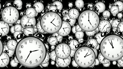 stock-footage-many-old-fashioned-clocks-flying-in-time-lapse-in-d-space